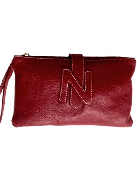 Punainen Chanel Laukku : Kirjekuorilaukku nahkaa punainen dressingroom